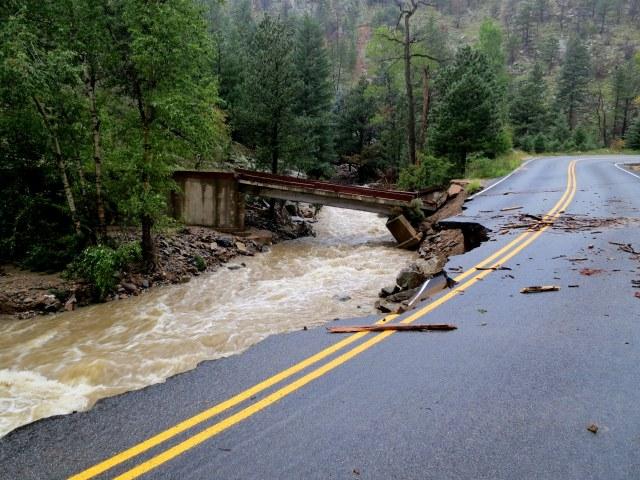 downed bridge