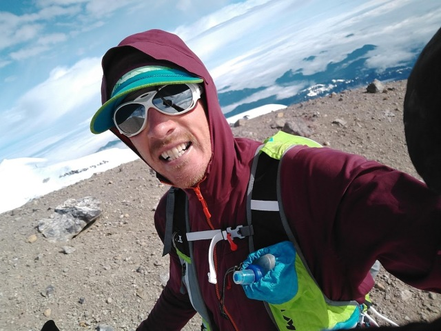 first summit selfie